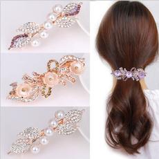 bowknot, Head, DIAMOND, Hair Clip