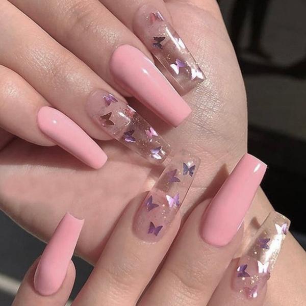nail decoration, ballerina, Fashion, butterfly