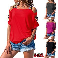 blouse summer casual, blouse, off shoulder top, beachtopswomen