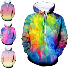 Plus Size, Color, trippy, Pullovers