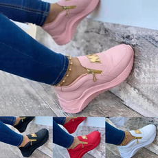 Sneakers, Plus Size, Womens Shoes, leather