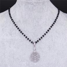 Steel, magicsymbollogonecklace, Magic, Jewelry
