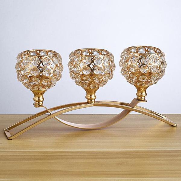 crystalcandleholder, Candleholders, Decor, Romantic