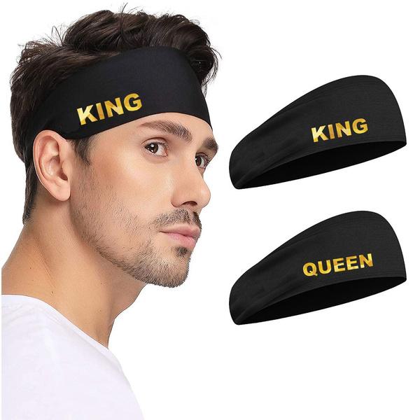 elasticheadband, Sport, King, headbandsforwomenmen