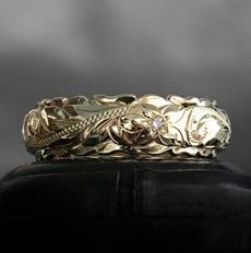 Wedding, gold, Hawaiian, Engagement