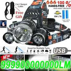 Flashlight, ledheadlamp, lights, led
