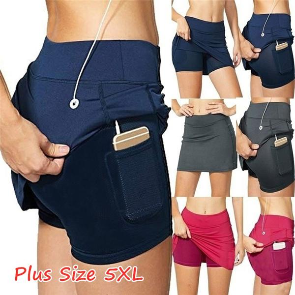 running skirt, Plus Size, Golf, Athletics