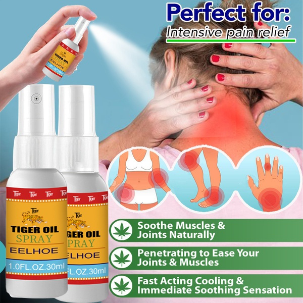 Tiger, pain, activeoil, activecream