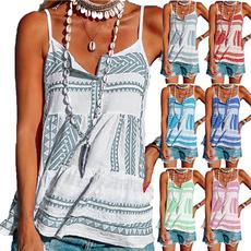 Summer, Vest, Fashion, buttontop