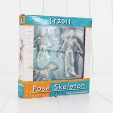 Toy, Statue, Skeleton, figure