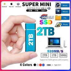 Mini, usb, 2tb, Mobile