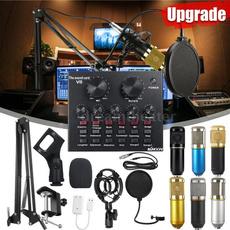 Microphone, livesoundcard, microphonekit, microphonestudio