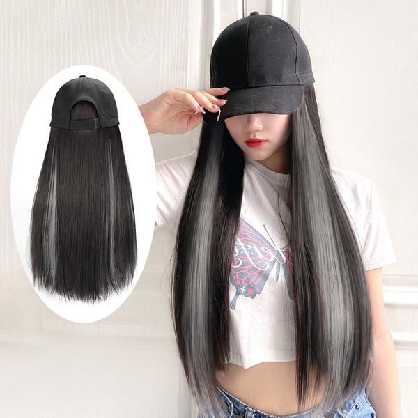 wig, Woman, dyehair, Straight Hair