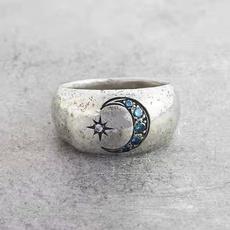 Sterling, DIAMOND, engagementweddingring, 925 silver rings