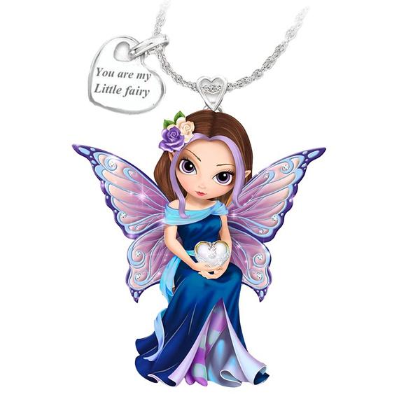 Heart, Necklaces Pendants, fairynecklace, Beauty