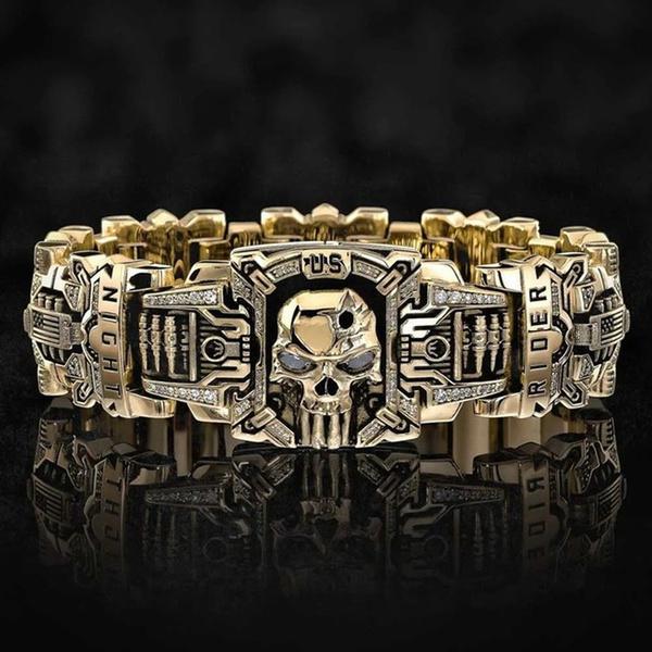 ringsformen, Fashion, Skeleton, gold