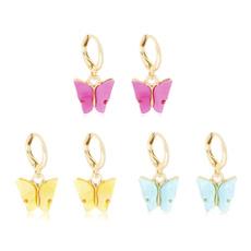 butterfly, Fashion, butterfly earrings, Gifts