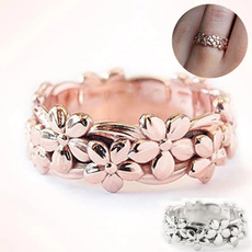 Flowers, Infinity, wedding ring, Gifts