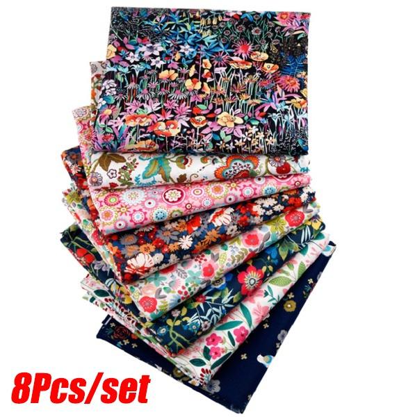 Cotton fabric, Flowers, Fabric, patchworkfabric