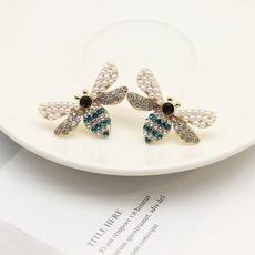 Fashion, smallbeeearring, Jewelry, Beauty