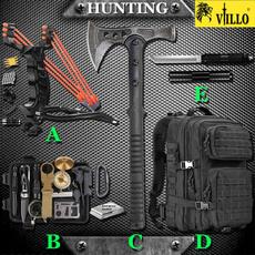Outdoor, Waterproof, tomahawk, slingshot