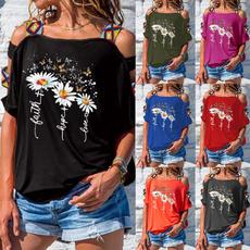 blouse, Summer, beachtshirt, Plus size top