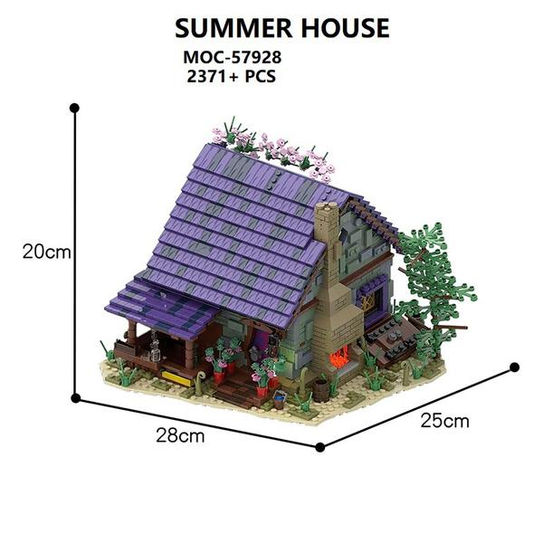 miniaturehousekit, summerhouse, tinyhouse, pavilion