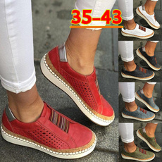 casual shoes, Plus Size, leather, Sport Shoes