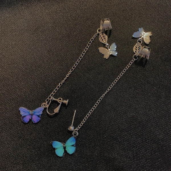 butterfly, Heart, Fashion, fairy