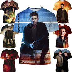 supernatural3dtshirt, Fashion, Shirt, Sleeve
