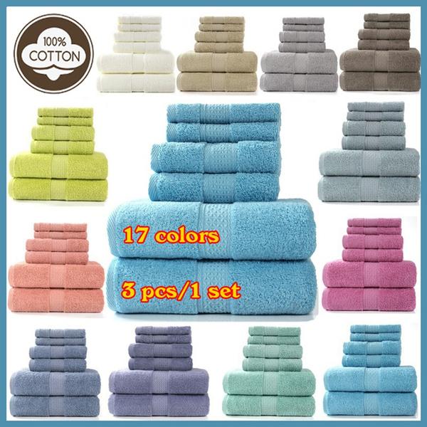 Cotton, Bathroom, plushtowel, quickdrytowel