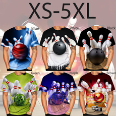 Fashion, Shirt, unisex, bowlingtshirt