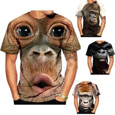 monkey, Funny, Shorts, Cotton T Shirt