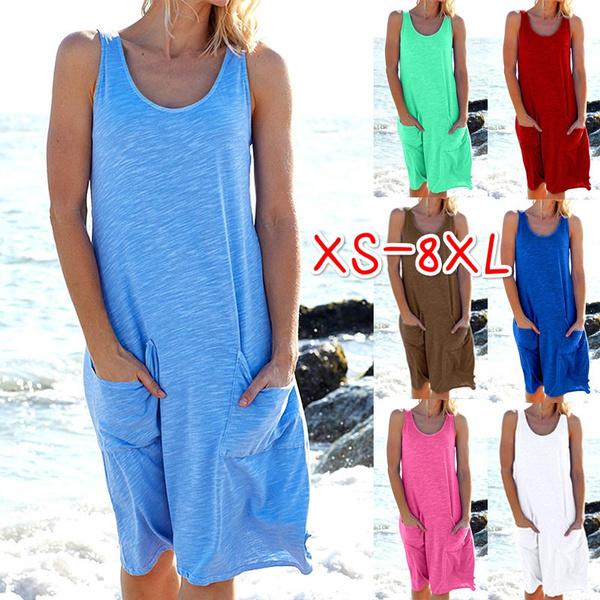 Summer, Plus Size, Dress, beach dress