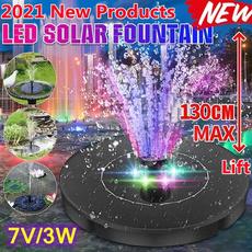 birdbathfountain, solarfountainpump, waterpump, solarpanel