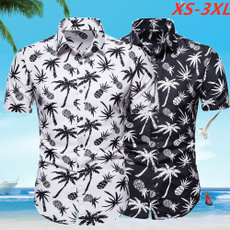 Summer, Outdoor, men clothing, printed shirts