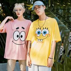 Hip Hop, Summer, Funny T Shirt, Sponge Bob