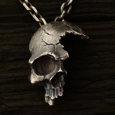 Steel, Party Necklace, skullnecklace, Fashion