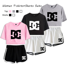 Fashion, women crop top, Tops, women shorts