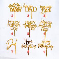 happyfathersday, decoration, Holiday, Cake