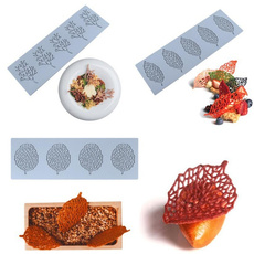 leaf, Lace, Silicone, Coral