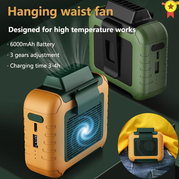 Outdoor, portable, minifan, Battery