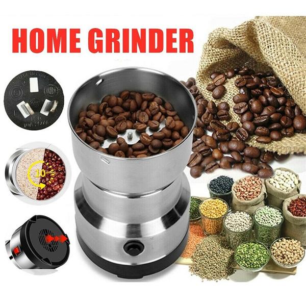 Steel, coffeegrinder, electriccoffeebeangrinder, Electric