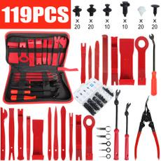 repair, Door, Clip, Pliers