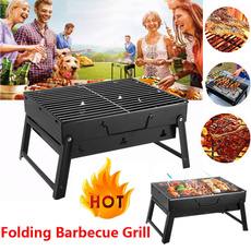 Steel, Grill, Picnic, Stainless