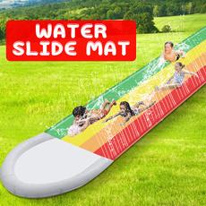 Summer, watersplash, lawngamespad, rainbow