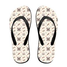 Flip Flops, Sandals, Pets, fish