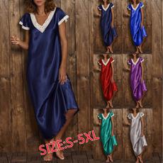 Summer, Woman, long dress, Dress