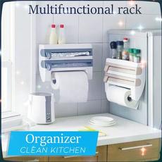 papertowelholder, Kitchen & Dining, multifunctionrack, clingfilmstorage