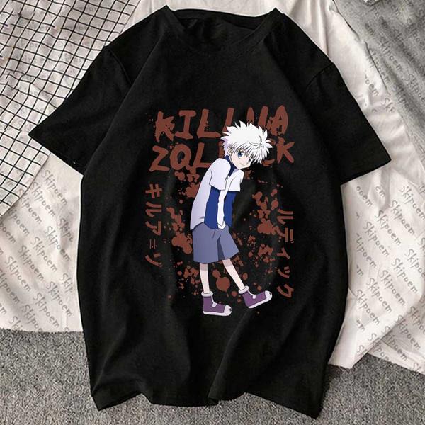 Tops & Tees, killuazoldyck, hunterxhunter, fashion shirt